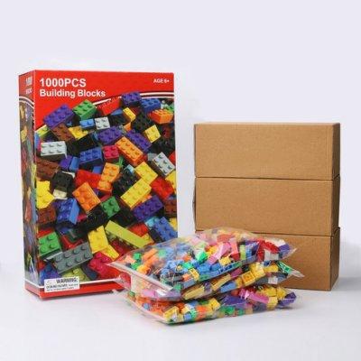 孕媽咪婦幼館@ 1000片盒裝小積木legao積木玩具澳洲building block1000塊幼兒益智絕對超值價出清價