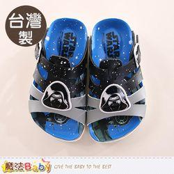 魔法Baby 男童鞋 台灣製星際大戰正版涼拖鞋~sk0121