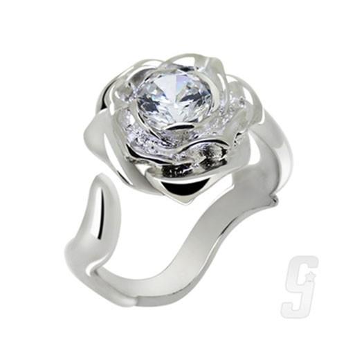【赤軍寶飾】 赤軍 香氛-香氛-薔薇戒 戒指 925純銀