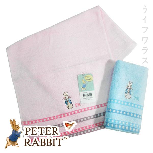 比得兔提緞精繡童巾-PR20112-KT-2入