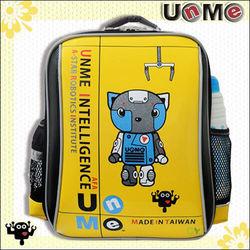 【UnMe】機器人單層後背書包(亮麗黃)