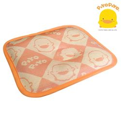 任-黃色小鴨PiyoPiyo-冰絲涼感嬰幼兒定型枕