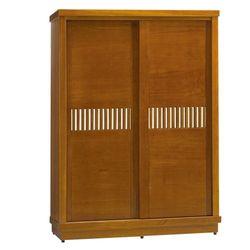 《新之森林》5x7尺實木推門衣櫃