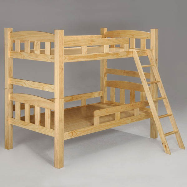 YoStyle 雅登3.5尺雙層床-原木色 上下舖 兒童床 專人配送安裝