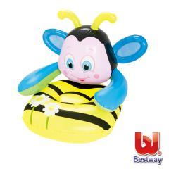 Bestway Q版蜜蜂31x35x31兒童充氣沙發75062