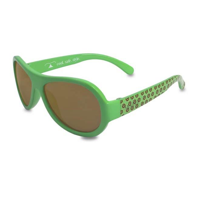瑞士SHADEZ 設計款太陽眼鏡~7~12歲(綠色足球)【麗兒采家】