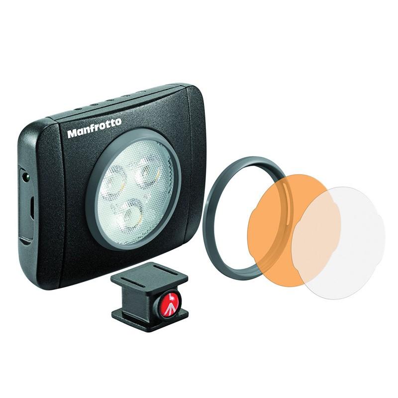 Manfrotto LUMIMUSE 3 LED 補光燈 LED燈 MLUMIEPL-BK [相機專家] [公司貨]