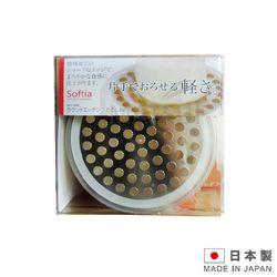 SOFTIA 日本進口丸型磨泥器-紅 SAN-C3668