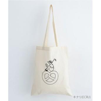 メルロー 休憩中のおじさんコットンショルダーバッグ レディース キナリ FREE 【merlot】