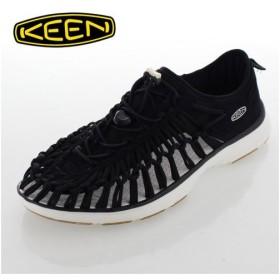 KEEN キーン UNEEK O2 ユニーク O2(オーツー) 1017050 メンズ サンダル アウトドア BLACK/HARVEST GOLD ブラック