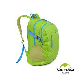 Naturehike 30L亮彩輕量耐磨機能登山後背包 柳綠