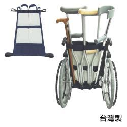 感恩使者 輪椅用後背袋/拐杖袋 ZHTW1787 (銀髮族 行動不便者適用)-台灣製