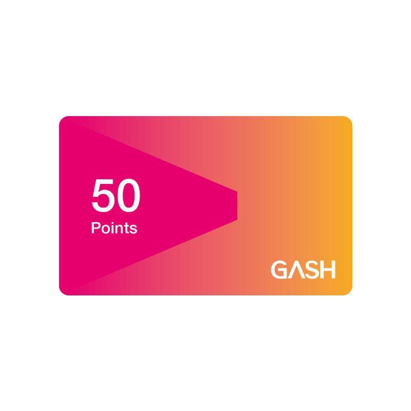 Gash Point 50點 【經銷授權 APP自動發送序號】