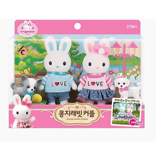 Konggi Rabbit 兔寶家族 甜蜜小情侶 < JOYBUS >