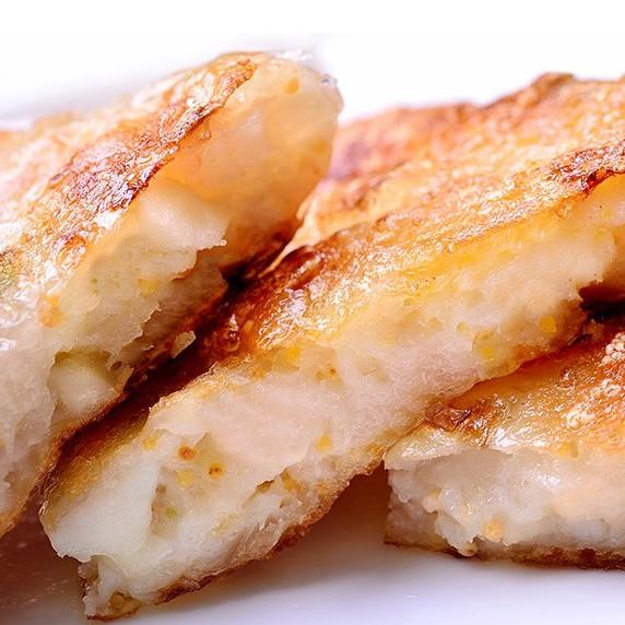 【鮮綠生活】獨家研發 風味飛魚卵花枝餅(3片/包)