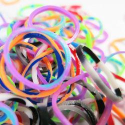 【BabyTiger虎兒寶】Rainbow Loom 彩虹編織器 彩虹圈圈補充包- 卡通混色 600條 單包組