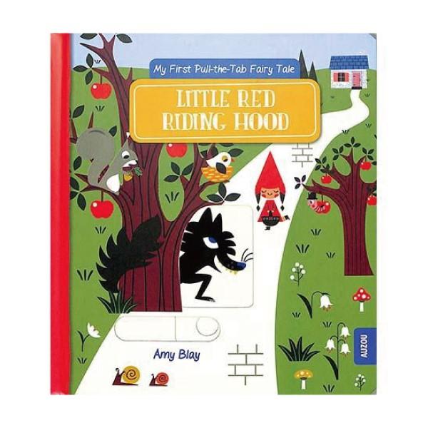 Little Red Riding Hood 小紅帽-推拉硬頁書【麗兒采家】