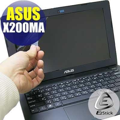 【EZstick】ASUS X200 X200M X200MA X200CA 靜電式筆電液晶 螢幕貼 (可選鏡面或霧面)
