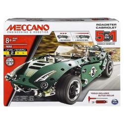 MECCANO 金屬組裝模型 - 五合一回力車組