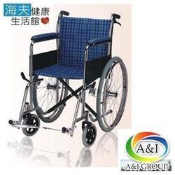 【海夫健康生活館】康復 第一代雙剎輪椅