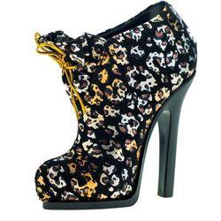 GALATEA葛拉蒂高跟鞋刷具收納筒(豹紋黑)
