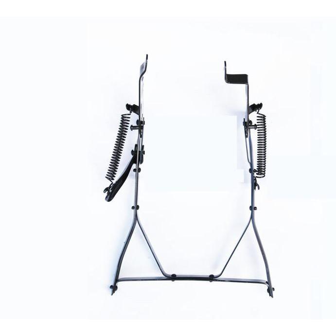 登山車變速用扁鐵雙立腳架 傳統式停車架[05209241_]【飛輪單車】