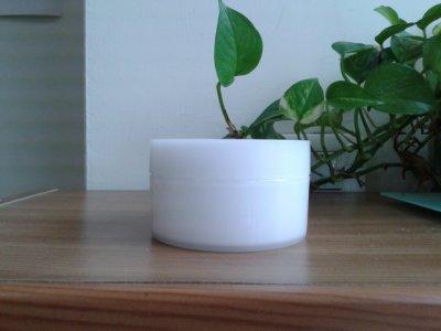 [髮膠/面膜/去角質面乳霜盒]東鼎瓶罐容器-PK-150雙白乳霜盒(白瓷色)*