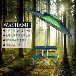WASHAMl-萬向衛星傘雙層透氣(傘面2.2M)