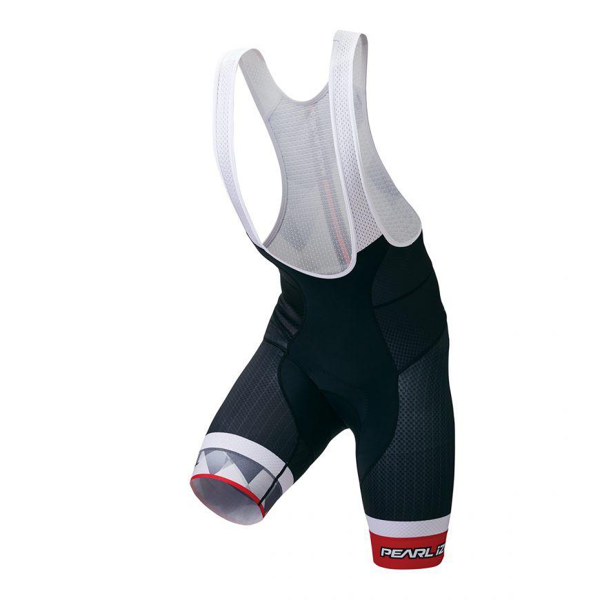 PEARL IZUMI T250-3DNP-10 頂級男性吊帶車褲(黑/灰/紅)【7號公園自行車】