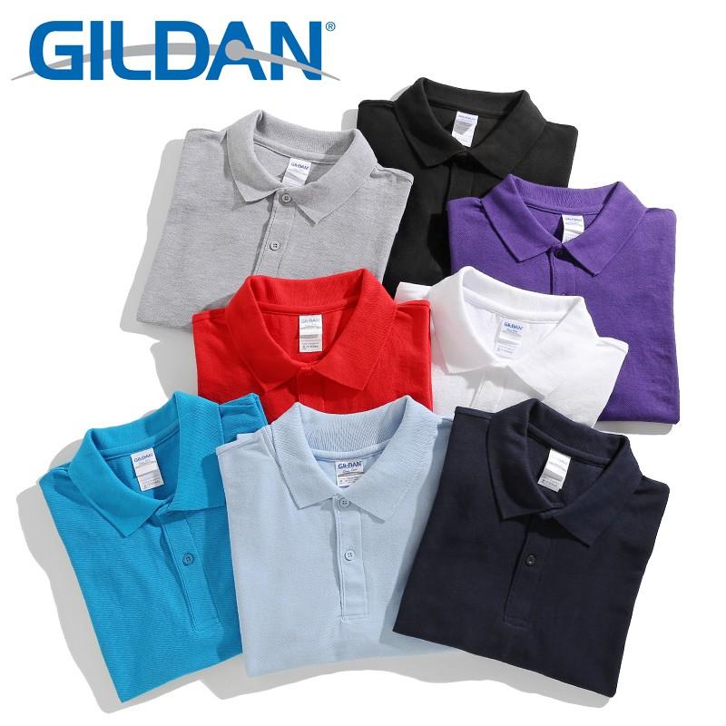 GILDAN 73800 【POLO衫】 短袖T恤 T恤 素T 素面 男 女 百搭 寬鬆衣服 短袖衣服 情侶衣
