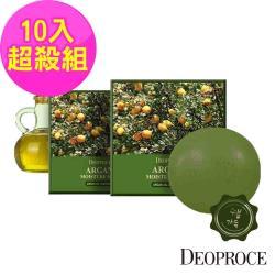 韓國deoproce 黃金果油保濕嫩白皂100gx10入