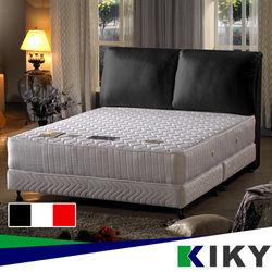 KIKY 白色情人布質靠枕床頭片 雙人加大6尺