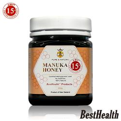 Best Health 紐西蘭麥蘆卡蜂蜜活性UMF 15+(250g)