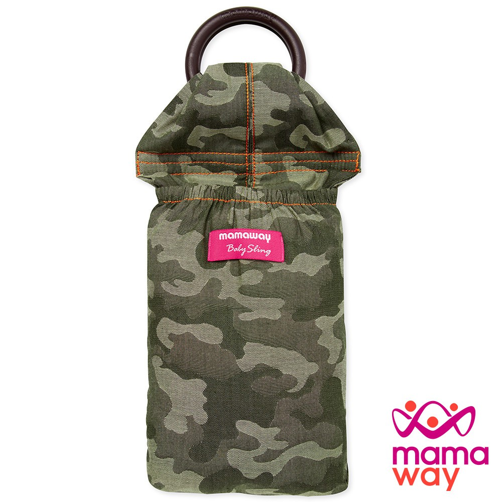 【mamaway媽媽餵】育兒哺乳背巾 叢林迷彩 哄睡神器 寶寶揹巾