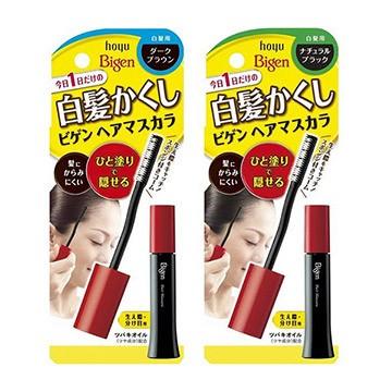 【即期促銷】日本 HOYU 美源 灰 白髮用- 暫時 補染膏(兩色)15ml 染髮劑 染髮膏 阿志小舖
