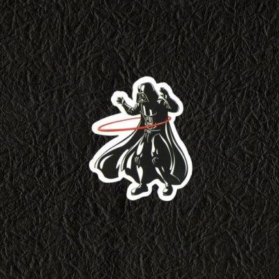 PVC防水貼紙 惡搞 呼拉圈 爆炸貼 行李箱 安全帽 滑板 嘻哈 旅行箱 機車 電腦 288