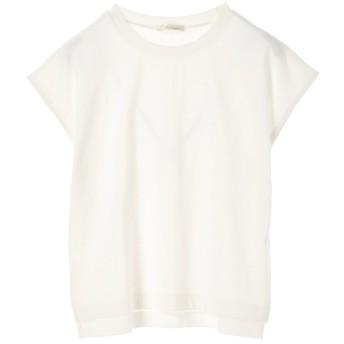 グリーンパークス Green Parks USAコットンフレンチスリーブTシャツ (Off White)