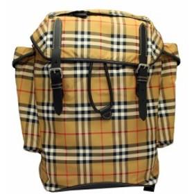 バーバリー バッグ 8005516 BURBERRY リュック バックパック ヴィンテージチェック&レザー