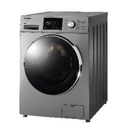 Panasonic國際牌 12KG 變頻滾筒洗脫洗衣機(晶漾銀)NA-V120HW-G -庫