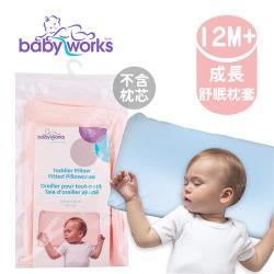 加拿大 BabyWorks 幼兒枕頭套-藍/粉 (12個月以上)