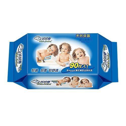 拭拭樂 嬰兒柔濕巾-藍包裝 (90抽/單包) 濕紙巾【杏一】