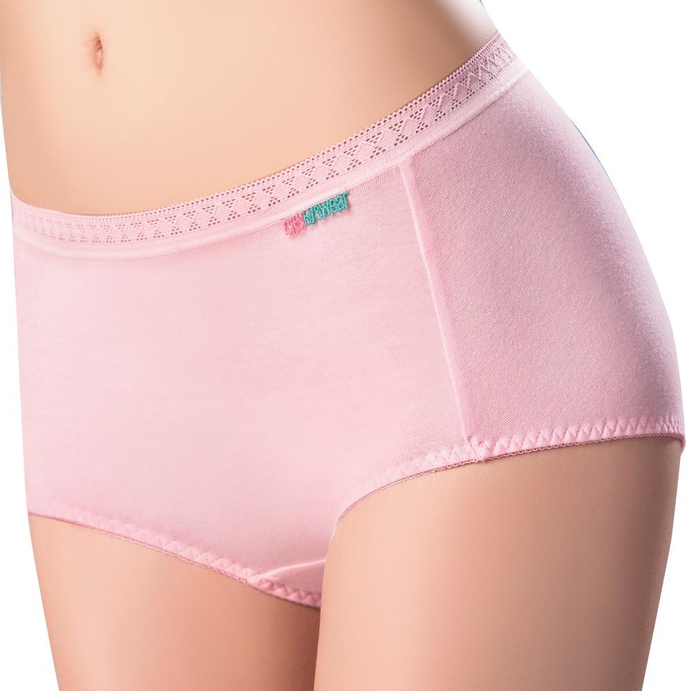【思薇爾】柔感棉系列素面中低腰平口內褲(嫣紅)