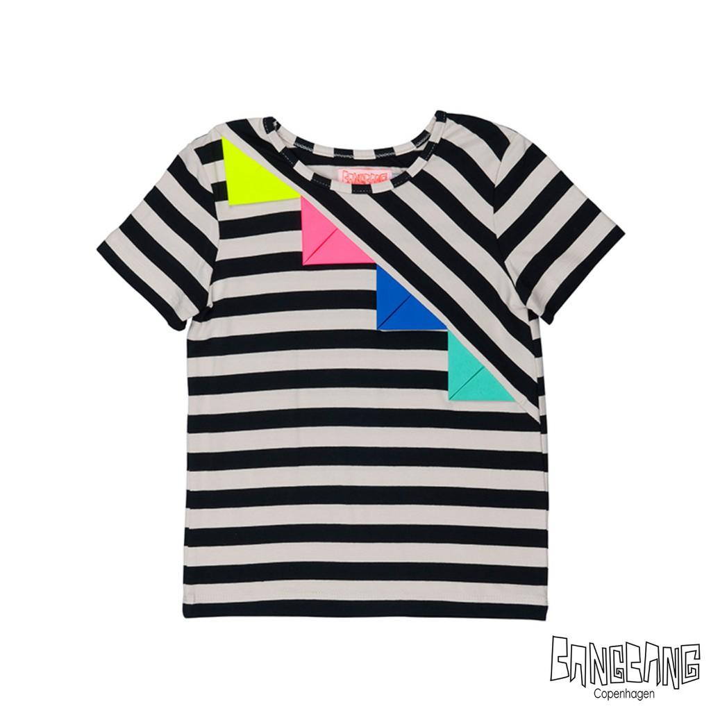 丹麥 BANGBANG 彩色旗短袖上衣|6-7歲 7-9歲 9-11歲