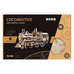 Robotime DIY木製精工模型 - 火車 LK701