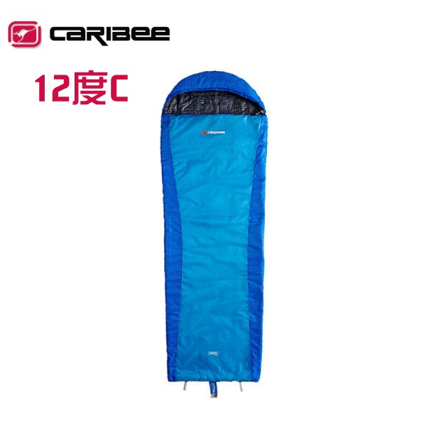 【Caribee 澳洲 PLASMA HYPER LITE 睡袋 藍】 CB-5420/露營睡袋/化纖睡袋/纖維睡袋