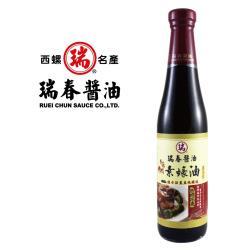 [瑞春] 香菇風味素蠔油(純素)420毫升12瓶