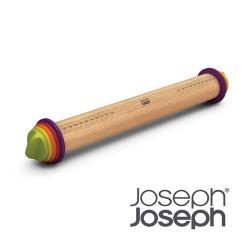 Joseph Joseph 厚度可調桿麵棍彩色
