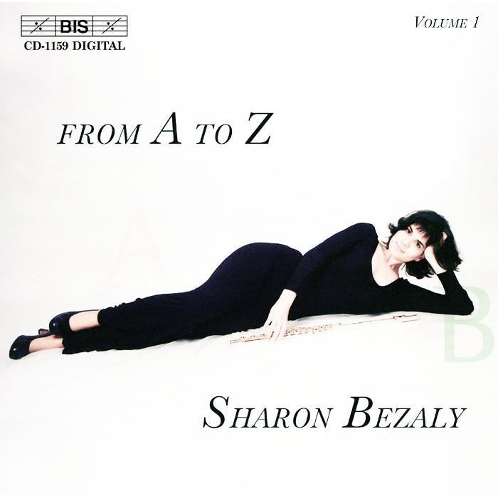 (BIS) 貝札莉 從A到Z長笛獨奏作品集 Sharon Bezaly CD1159