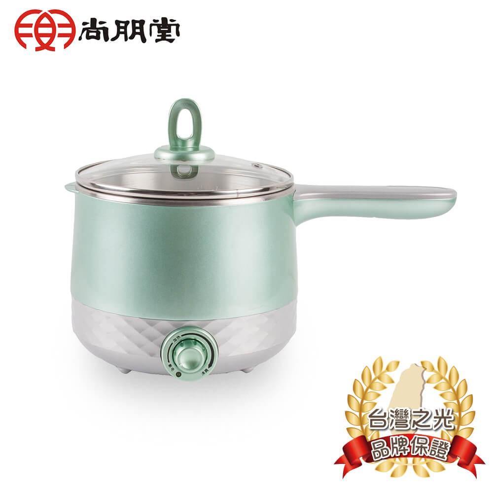 【原廠公司貨】尚朋堂 1.5L雙層溫控多功能煮麵鍋SSP-1555C