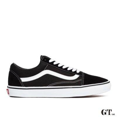 【GT】Vans Old Skool 黑白 男鞋 女鞋 低筒 基本款 經典款 帆布鞋 休閒鞋 滑板鞋 正品公司貨
